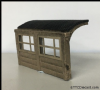 Bachmann 44-593 Concrete Bus Shelter